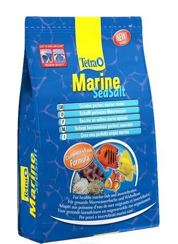TetraMarine Seasalt морская соль для подготовки воды 2 кг