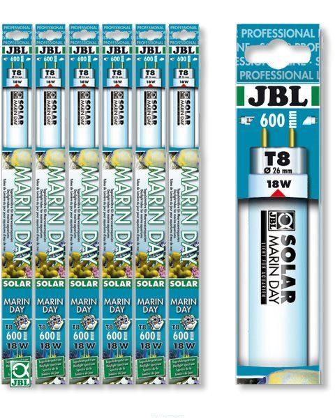 Люминесцентная Т8 лампа дневного белого цвета для морских аквариумов, 15000 К JBL SOLAR MARIN DAY, 18 Вт