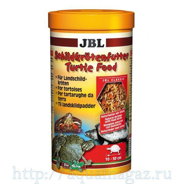 Основной корм для черепах JBL Turtle Food, 1000 мл 120 г