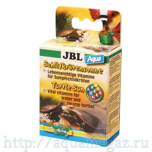 Мультивитаминный препарат для водных черепах JBL Turtle Sun Aqua, 10 мл
