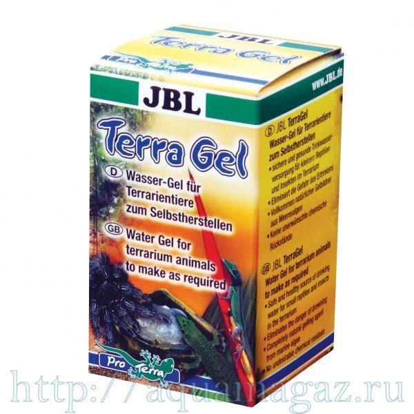 Препарат для самостоятельного приготовления специального водного геля , источника питьевой воды JBL TerraGel, 30 г