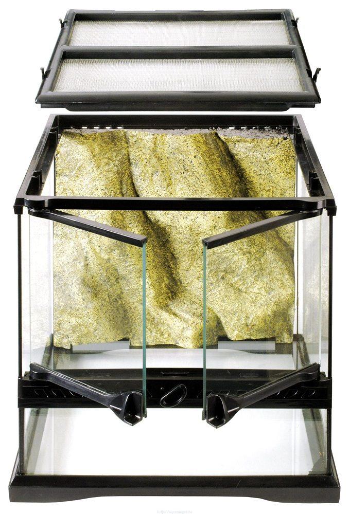 Террариум из силикатного стекла 30 x 30 x 30 см