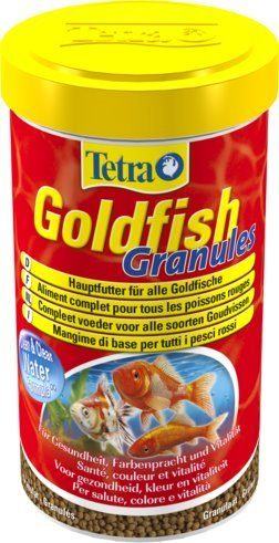 TetraGoldfish Granules основной корм в гранулах для золотых рыб 500 мл
