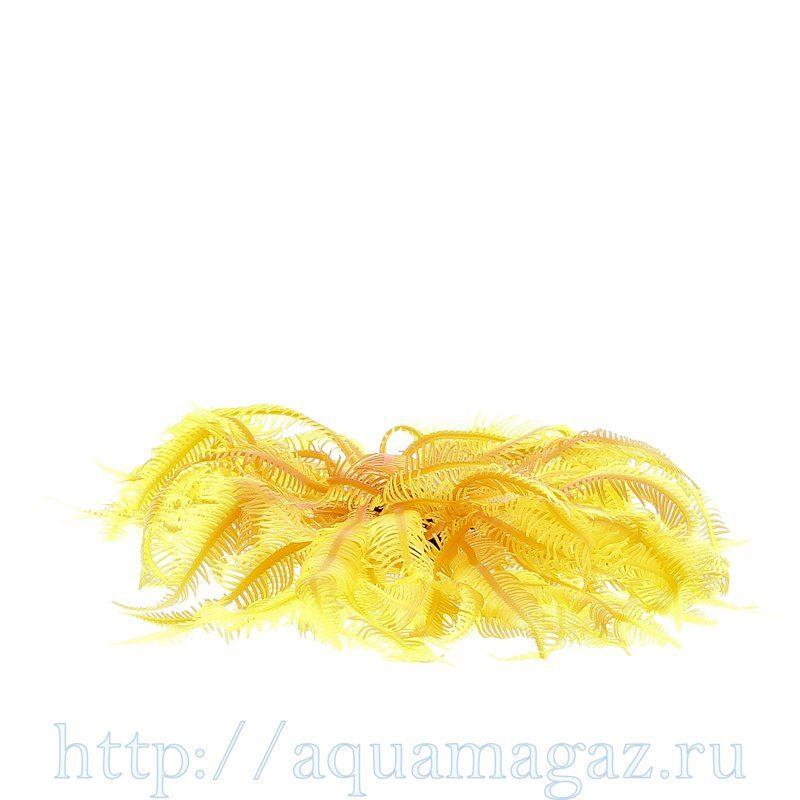 Коралл силиконовый желто-красный 4.5х4.5х12см