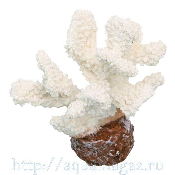 Коралл пластиковый белый 10,2х7,2х12см