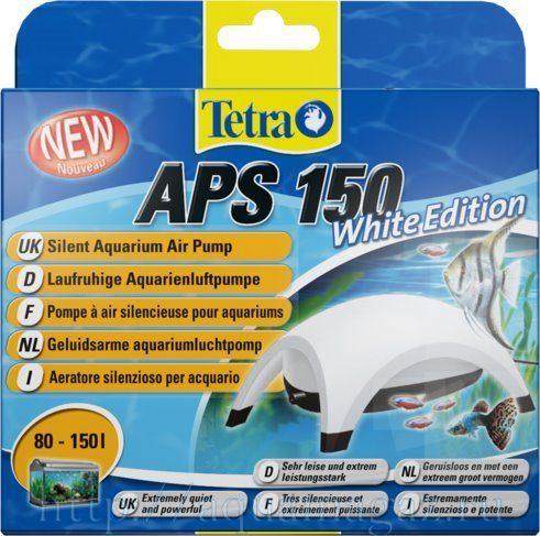 TetraTec AРS 150 компрессор для аквариумов 80-150 л белый