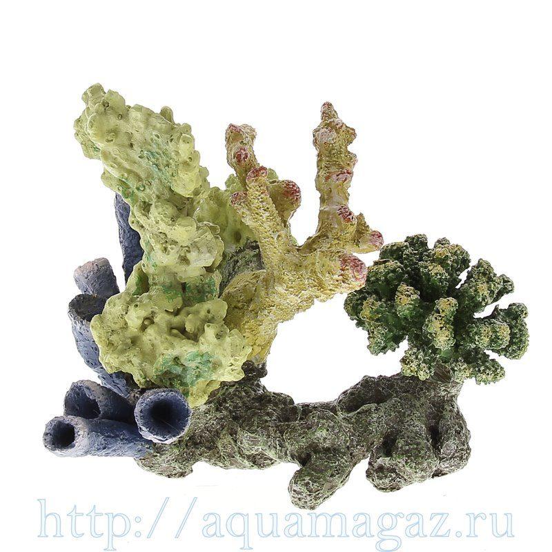 Коралл пластиковый LAY-OUT LIVE CORAL 260 x180 x220мм