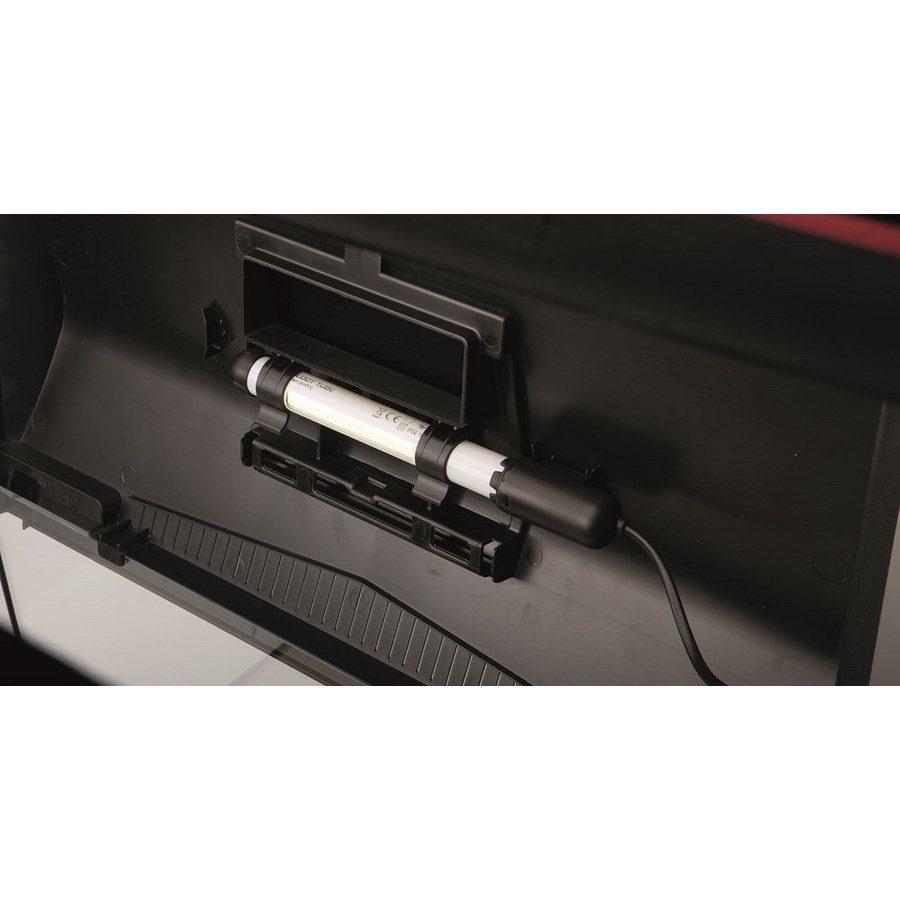 Аквариум LEDDY LT 60 / 54л прямой 60х30х30см. Комплектация: крышка,свет Leddy Tube 1х6Вт 6500К фильтр PAT mini нагреватель AQn50W рамка., фото 3