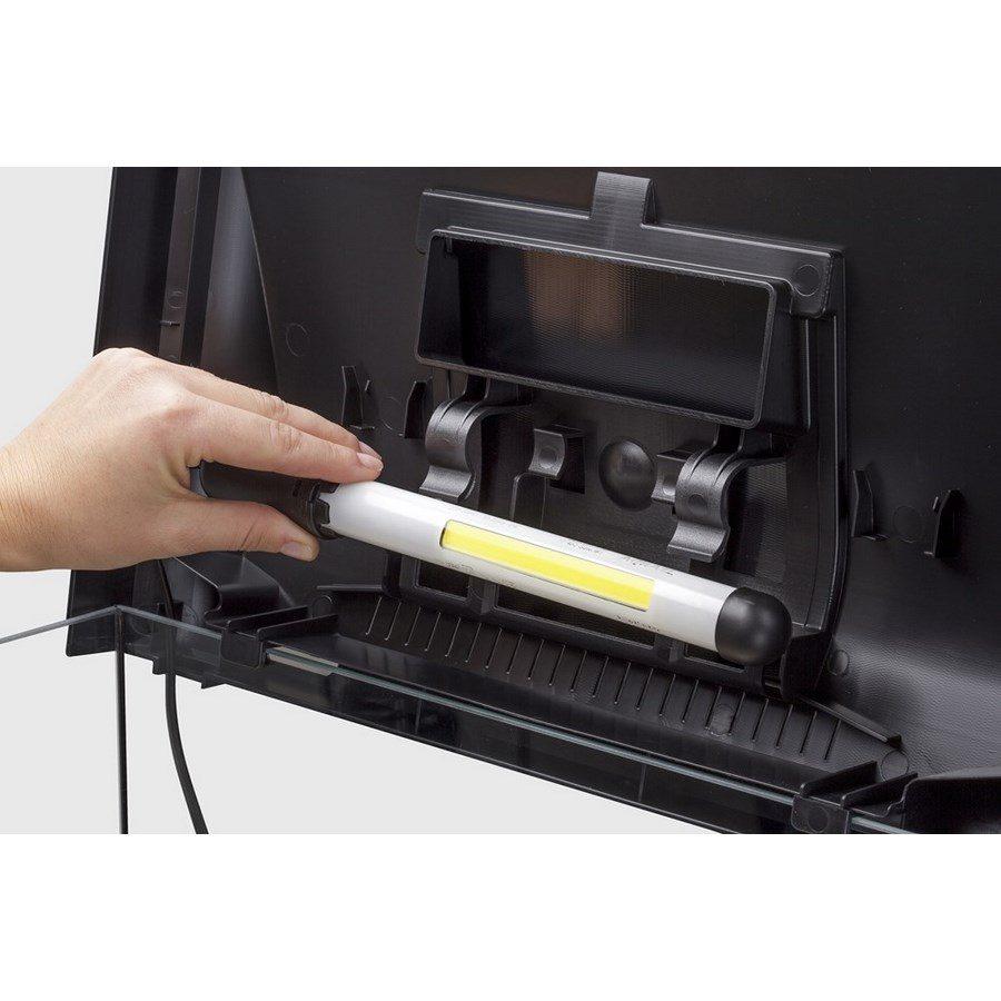 Аквариум LEDDY LT 60 / 54л прямой 60х30х30см. Комплектация: крышка,свет Leddy Tube 1х6Вт 6500К фильтр PAT mini нагреватель AQn50W рамка., фото 1