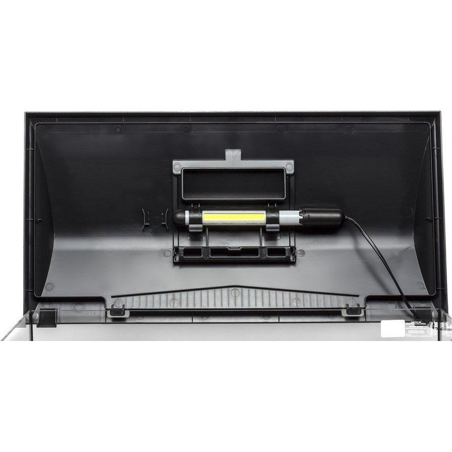 Аквариум LEDDY LT 60 / 54л прямой 60х30х30см. Комплектация: крышка,свет Leddy Tube 1х6Вт 6500К фильтр PAT mini нагреватель AQn50W рамка., фото 9