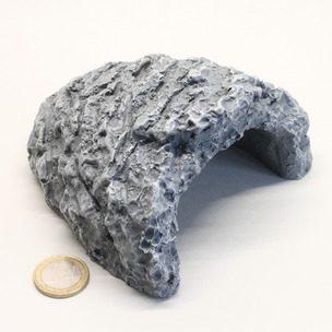 JBL ReptilCava GREY S - Пещера для террариумных животных, серая, 11 х 11,5 х 6,5 см