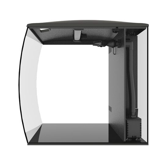 Аквариум Fluval Flex57л с изогнутым стеклом 390х390х415мм, фото 2