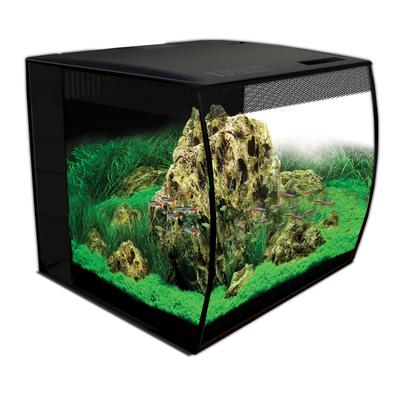 Аквариум Fluval Flex57л с изогнутым стеклом 390х390х415мм, фото 1