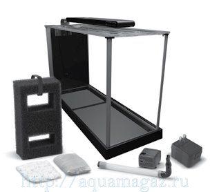 Аквариум Fluval SPEC 3, черный 10 литров (30 x 27.5 x 22.3 см)