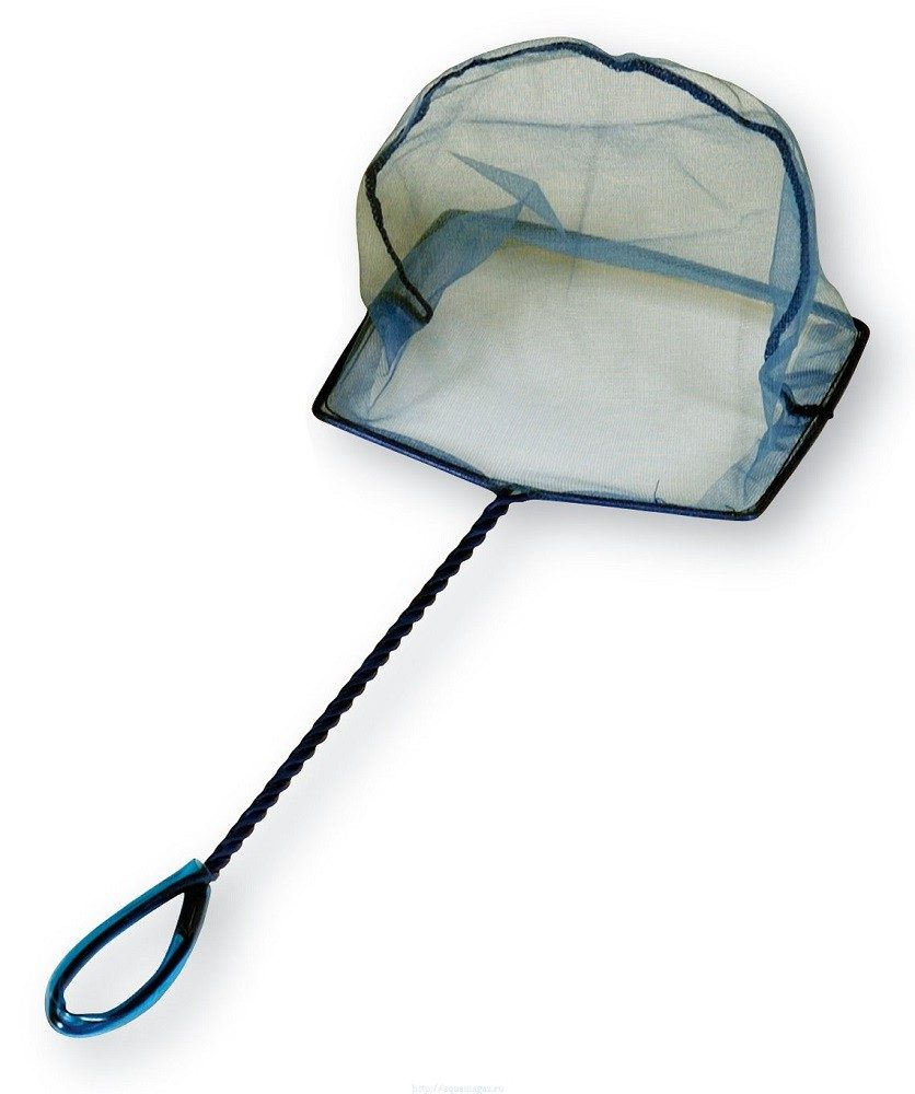 Сачок синий, Fine Mesh 12,5-25 см