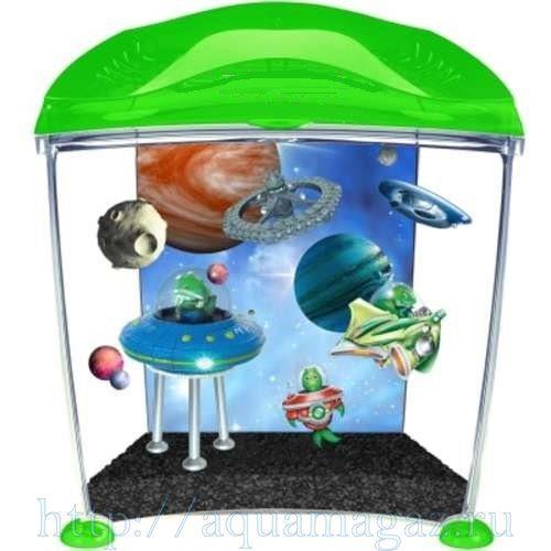 Аквариум для детей Инопланетянин 10л