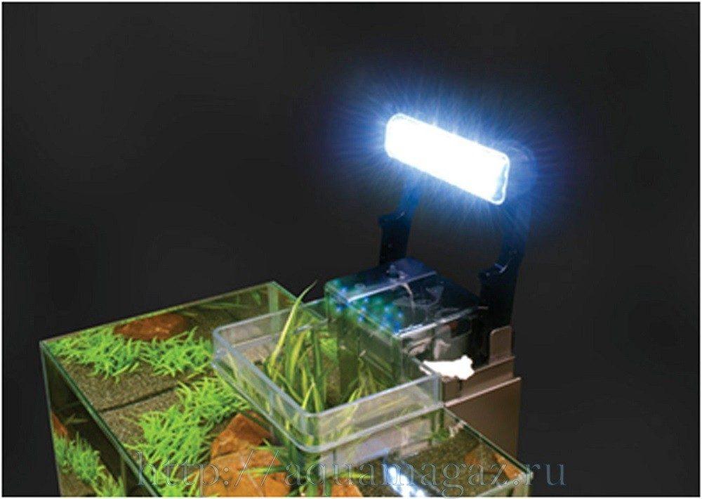 Аквариум  Fluval  Edge LED 23л  43х22.4х26см серый