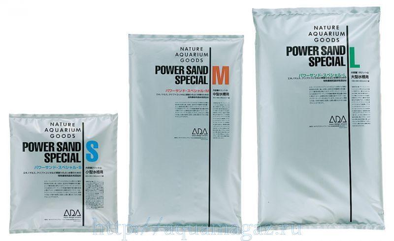 Питательный грунт ADA Power Sand Special-M 6л