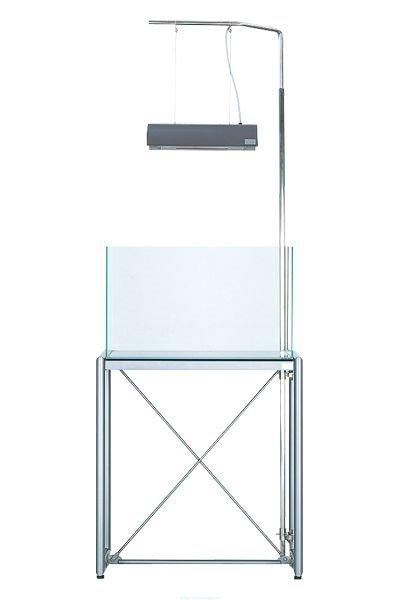 Кронштейн Г-образный для монтажа светильника Солар1 к подставке (тумбе) для аквариума 90х45 см. Высота 180 см. Solar ? Arm Stand