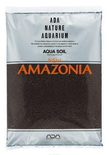 Основной питательный субстрат Амазония в форме мелких гранул порошка ADA Aqua Soil Powder Amazonia, 9 л