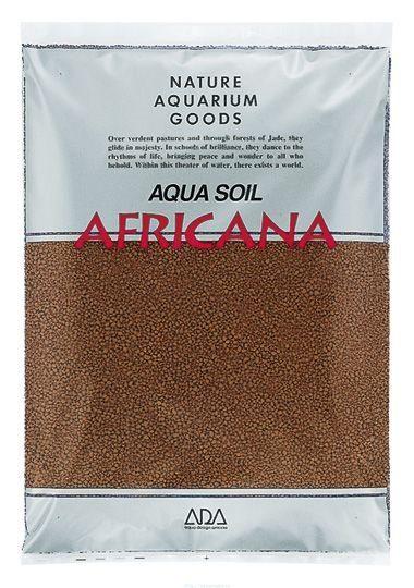Основной питательный субстрат Африкана в форме мелких гранул порошка ADA Aqua Soil Powder Africana, 3 л