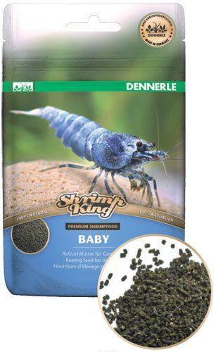 Корм премиум класса для молодняка креветок Dennerle Shrimp King Baby  30 г