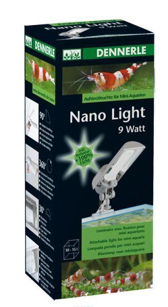 Светильник с верхним креплением на стенку аквариума Dennerle Nano Light 9 Вт