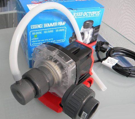 Помпа ES-2500S Skimmer Pump с игольчатым ротором для флотаторов серии Essence, воздух 900л/ч, 25Вт,выход D32 1