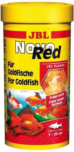 Основной корм для золотых рыб в форме хлопьев JBL NovoRed, 100 мл 16 г
