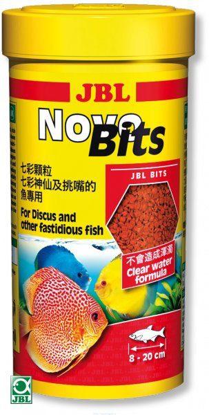 Корм в форме гранул для дискусов и других привередливых тропических рыб JBL NovoBits, 1000 мл 450 г