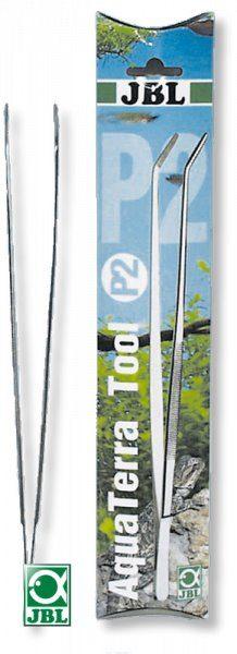 Пинцет с загнутыми концами из нержавеющей стали, 30 см JBL AquaTerra Tool P2