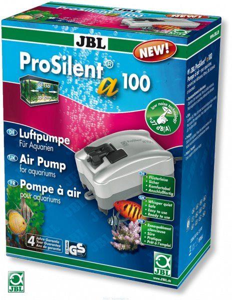 Сверхтихий компрессор 100 л/ч для аквариумов 40-150 литров JBL ProSilent a100