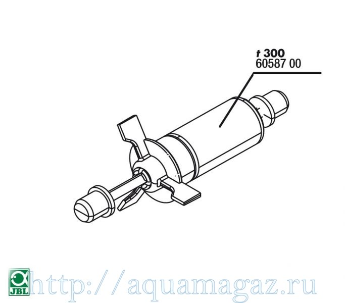 Ротор для помпы ProFlow t300 JBL Impeller ProFlow t300