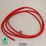 Шланг 4/6 мм. красный для установки обратного осмоса JBL Osmose 120, 2,5 м JBL Hose - 4/6 mm, красный