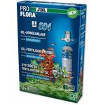 JBL ProFlora u504 CO2-система в комплекте с одноразовым баллоном для сильных и красивых аквариумных растений, фото 1