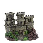 Замок с тремя башнями 120х80х85мм