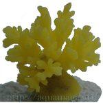 Коралл пластиковый желтый 8x8x6.5см
