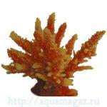 Коралл пластиковый желто-перламутровый 12,6x10,7x11см