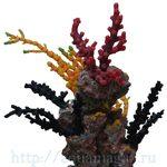 Композиция из кораллов пластик+силикон 18х14х19см