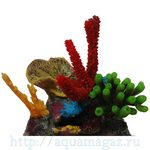 Композиция из кораллов пластик+силикон 24.5х20х26см