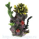 Композиция из кораллов пластик+силикон 31х22х33см