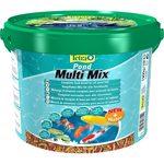 Tetra Pond MultiMix корм для пруд.рыб гранулы, хлопья, таблетки, гаммарус 10л
