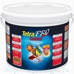 TetraPro Color Crisps корм-чипсы для улучшения окраса всех декоративных рыб 10 л ведро