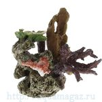 Коралл пластиковый LAY-OUT LIVE CORAL 240 x220 x230мм