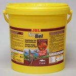 JBL NovoBel - Основной корм в форме хлопьев для всех аквариумных рыб, 10,5 л (1995 г)