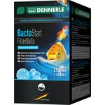 Шарики с бактериями для биологической активации прудового фильтра, 250 мл на 10000 л прудовой воды Dennerle BactoStart FilterBalls DEN3577