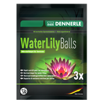 Удобрение в форме шариков для нимфей и других прудовых растений 3 шт. Dennerle Water Lily Fertilizer Balls, фото 1