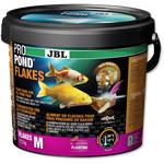 JBL ProPond Flakes M - Основной корм в форме плавающих хлопьев для прудовых рыб среднего размера 0,72 кг (5,5 л), фото 1