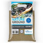 Грунт UDeco River Amber - Янтарный песок 0,1-0,6 мм 2 л, фото 1