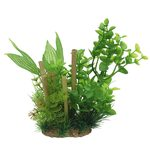 Композиция из растений с бамбуком Бакопа 20 см Art Uniq, фото 1